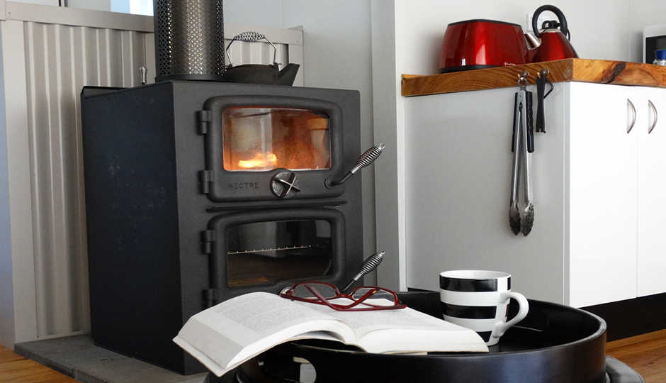 Wood-fired stove
